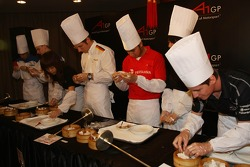 Dim Sum Making event: A1GP Drivers