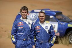 Volkswagen: Giniel de Villiers y Dirk von Zitzewitz