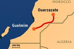 Stage 5: 2008-01-09, Ouarzazate to Guelmim