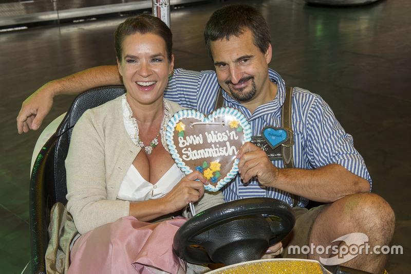 Katharina Witt und Georg Hackl