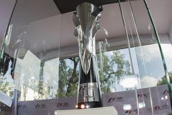 Trofeo del primer lugar para el Gran Premio de México 2015