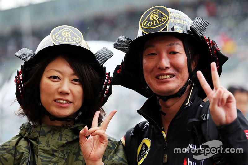 Lotus F1 Team фанати