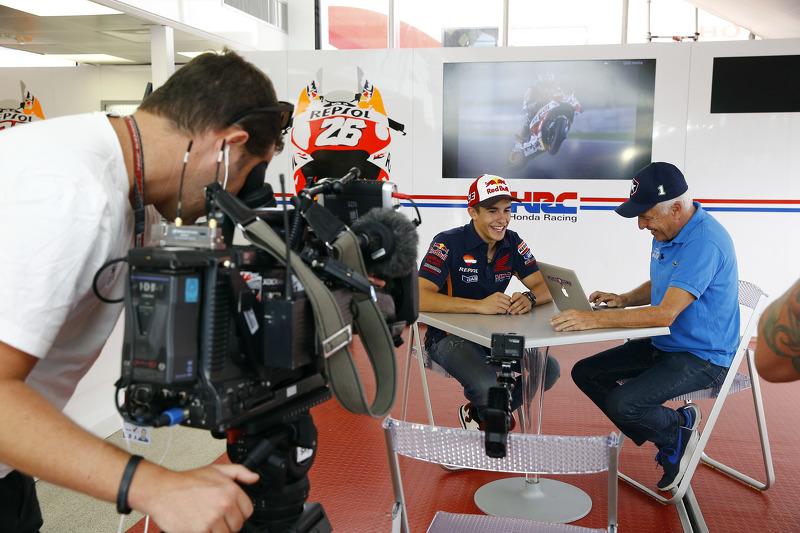 Марк Маркес, Repsol Honda Team та Dennis Noyes