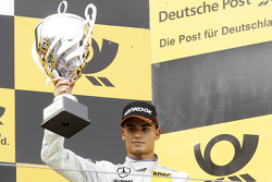 Podium: third place Pascal Wehrlein, HWA AG Mercedes-AMG