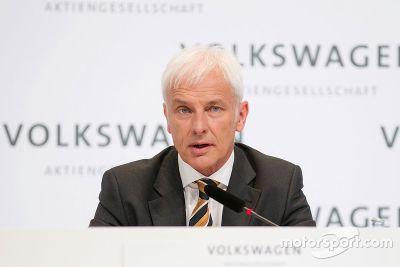Volkswagen names Matthias Müller as new CEO