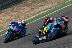 Scott Redding, Marc VDS Racing Honda y Maverick Viñales, Team Suzuki MotoGP