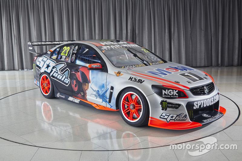 (V8 SUPERCARS) Presentación Lado de Star Wars para el Holden Racing Team