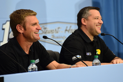 Clint Bowyer und Tony Stewart, Stewart-Haas Racing