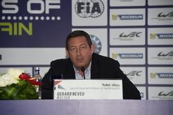 جيرارد نيفو الرئيس التنفيذي لبطولة العالم لسباقات التحمل