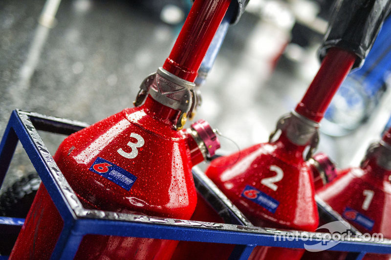 Roush Fenway Racing fuel cans