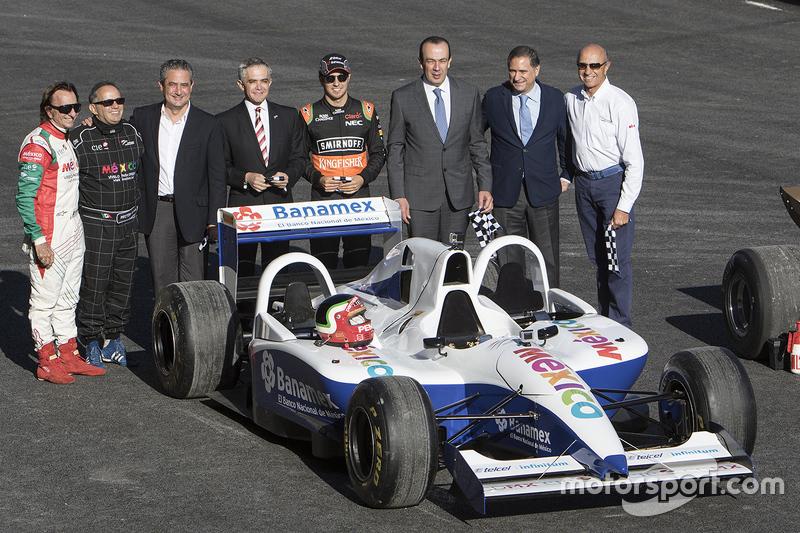 F1-sterren bij inhuldiging Autodromo Hermanos Rodriguez