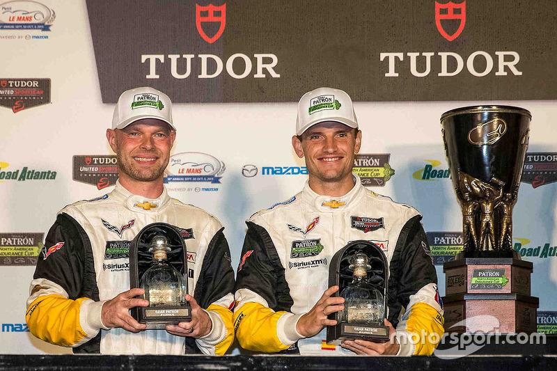 North American Endurance Challenge GT переможці Ян Магнуссен, Антоніо Гарсія, Corvette Racing