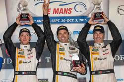 P podium: winners Sébastien Bourdais, Christian Fittipaldi, Joao Barbosa, Action Express Racing