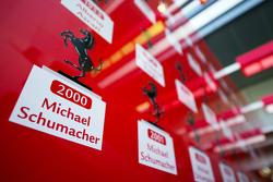 Список чемпионов мира Ferrari включая Михаэля Шумахера