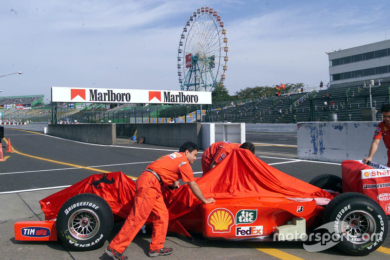 Under the Ferris Wheel, a big thing was to happen for Ferrari