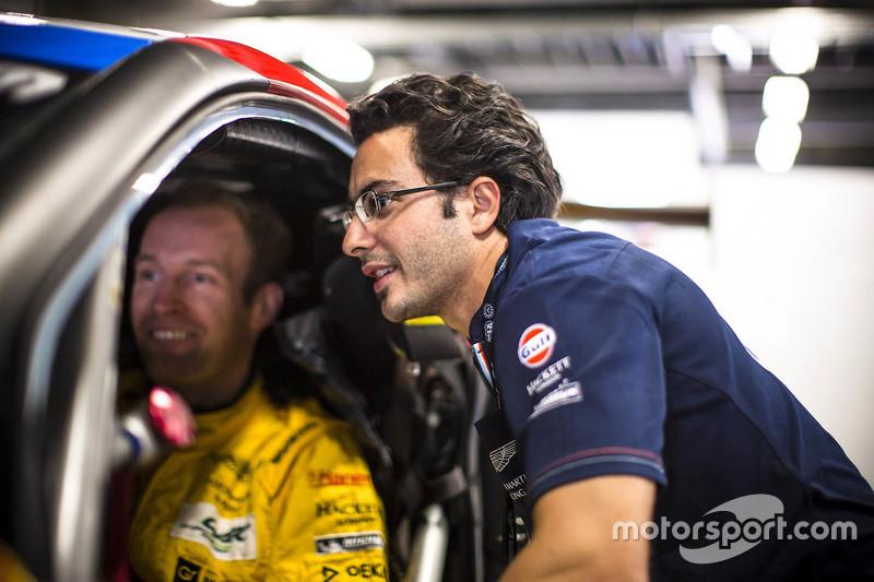 Stefan Mücke and Fernando Rees, Aston Martin Racing