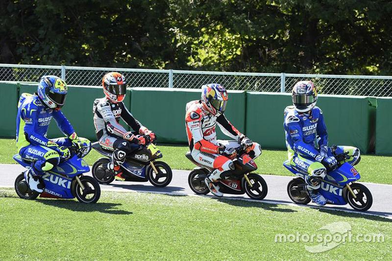 Mini Bike Challenge At Japanese Gp On October 09th 2015