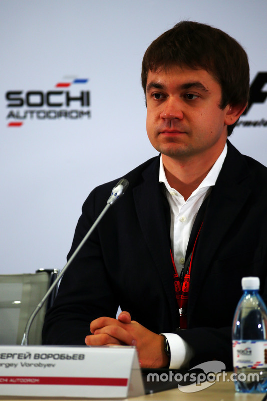 Sergey Vorobyev, Deputy General Director, OJSC Centre Omega, and Russian GP Promoter