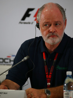 Ричард Креган, консультант Гран При России