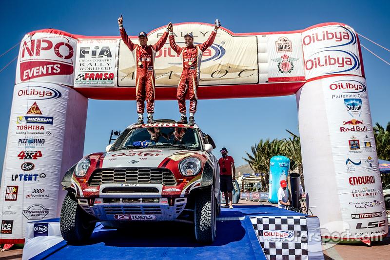 Переможці #300 Mini: Нассер Аль-Аттія та Матьє Бомел святкування