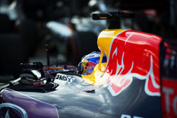 Daniel Ricciardo, Red Bull Racing RB11 in parc ferme