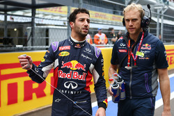Daniel Ricciardo, Red Bull Racing en la parrilla