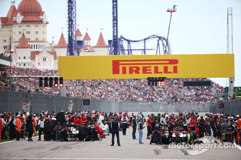 В воскресенье на гонку пришли 62 тысячи болельщиков