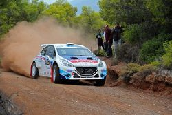 Charles Martin e Thierry Salva, Peugeot 208 T16 R5