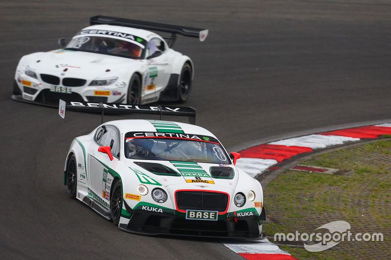 #8 Bentley Team HTP Bentley Continental GT3: Fabian Hamprecht, Clemens Schmid