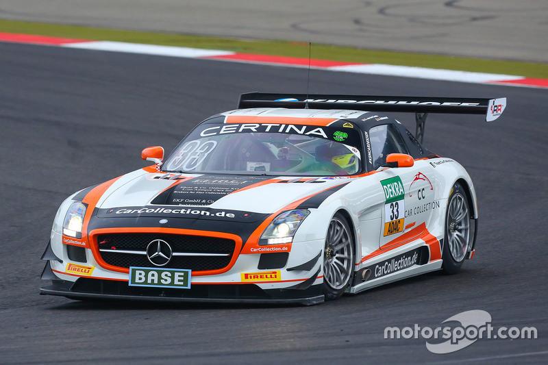 #33 Car Collection Motorsport Mercedes-Benz SLS AMG GT3: Alexander Mattschull, Renger van der Zande