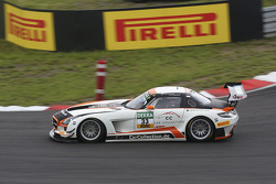 #33 Car Collection Motorsport Mercedes-Benz SLS AMG GT3: Alexта er Mattschull, Ренгер ван дер Занде