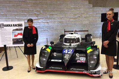 Strakka Racing at the Louvre