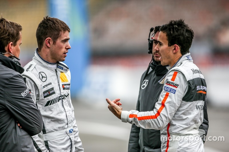 Paul di Resta, HWA AG Mercedes-AMG C63 DTM and Robert Wickens, HWA AG Mercedes-AMG C63 DTM