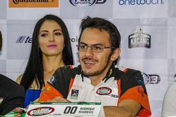 Rodrigo Marbán, Marbán Racing durante la conferencia de prensa de Nascar México