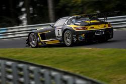 #2 Black Falcon Mercedes-Benz SLS AMG GT3: Hubert Haupt, Yelmer Buurman, Adam Christodoulou, Manuel