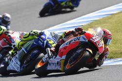 Marc Marquez, Repsol Honda Team en Valentino Rossi, Yamaha Factory Racing