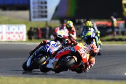 Marc Márquez, Repsol Honda Team y Jorge Lorenzo, Yamaha Factory Racing