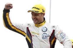 GTC podium: winner Andy Priaulx, BMW Team Marc VDS