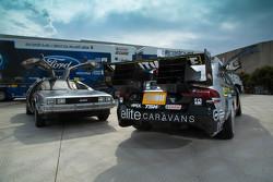 DeLorean dengan tampilan Back to the Future untuk Prodrive Racing