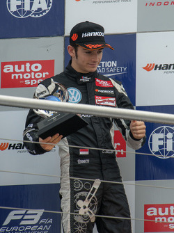 Campeón Novato 2015 Charles Leclerc, Van Amersfoort Racing Dallara Volkswagen