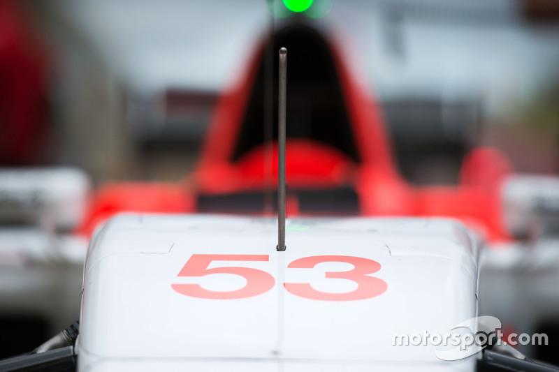 Manor F1 Team машина для Александер Россі, Manor F1 Team