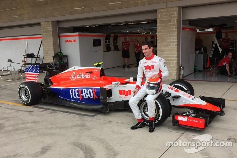 Alexander Rossi presentado con el equipo Manor