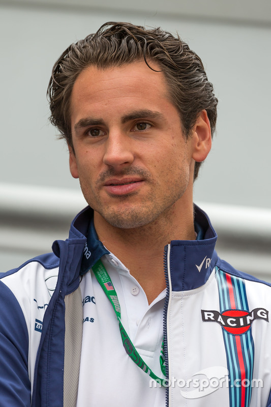 Adrian Sutil, Williams Reserverijder