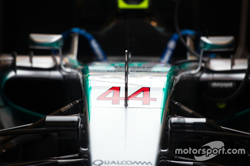 Lewis Hamilton'ın Mercedes AMG F1 W06 aracı, Mercedes AMG F1