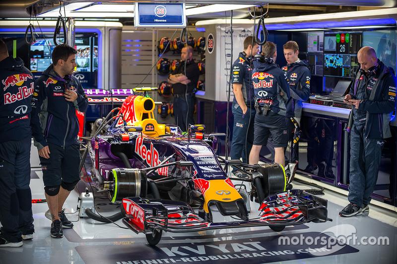 Red Bull Racing RB11 of Daniil Kvyat, Red Bull Racing