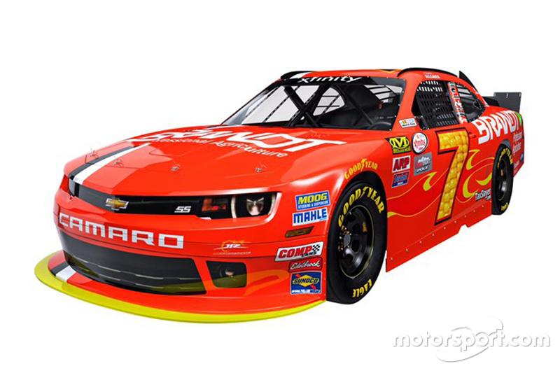 Pintura da Jr Motorsport para 2016