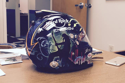 Casco de John Hunter Nemechek