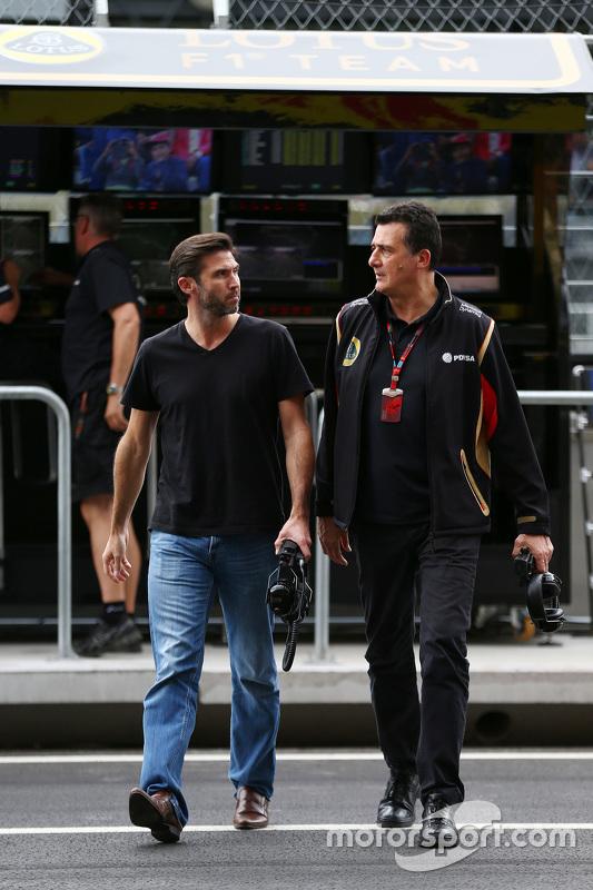Меттью Картер, Lotus F1 Team CEO з Федеріко Гастальді, Lotus F1 Team Заступник керівника команди