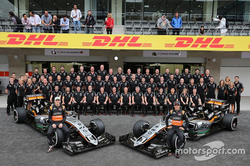 Ніко Хюлкенберг, Sahara Force India F1 та Серхіо Перес, Sahara Force India F1