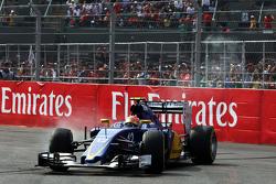 Felipe Nasr, Sauber C34 abandonne